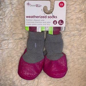 XS Weatherized Socks for Pet